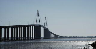 france pays de la loire saint nazaire bridge port town city